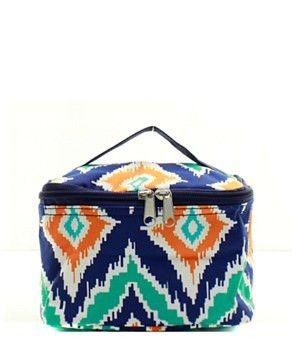 IKAT Small Cosmetic Bag  #preplife #newarrival #accessoriesontheboardwalk #snapchatus #springishere #angelamillerdesigns #beachlife #monogrameverything #likeusoninstagram #lovespring