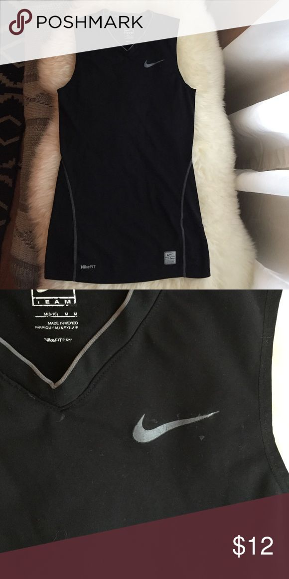 Nike Team Pro Men's tank top Nike Fit dry Sleeveless Athletic Tank top perfect for workout! Has small around Nike sign. Nike Shirts Tank Tops