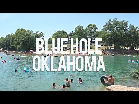 Blue Hole, Oklahoma: Full Time RV Traveling