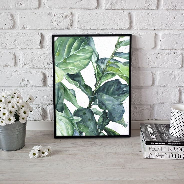tropische kunst, plant print, botanische poster - 3 maten beschikbaar Giclee print door StanglewiczArt op Etsy https://www.etsy.com/nl/listing/498510509/tropische-kunst-plant-print-botanische