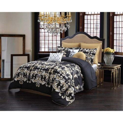 Bedroom Black And White Modern Bedroom Black And Red New Bedroom Decorating Ideas Lavender Accent Wall Bedroom: 17 Best Ideas About Damask Bedroom On Pinterest