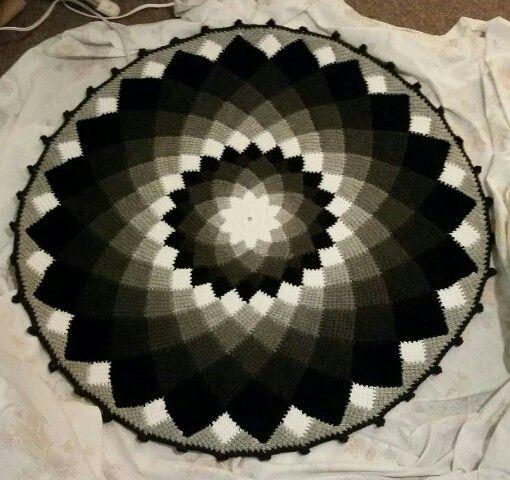 Sunny daze tunesian crochet