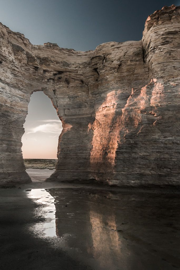 Monument Rocks National Natural Landmark, Kansas; gonna have to go visit some of these places from my birth state