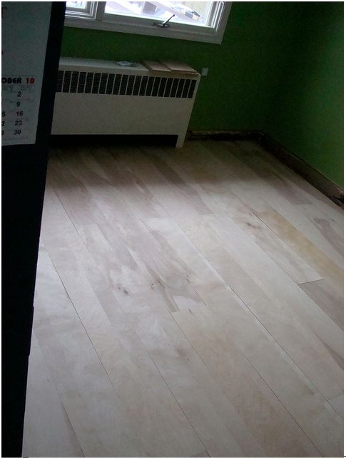 DIY Project: Beautiful Birch Plywood Flooring Made Easy