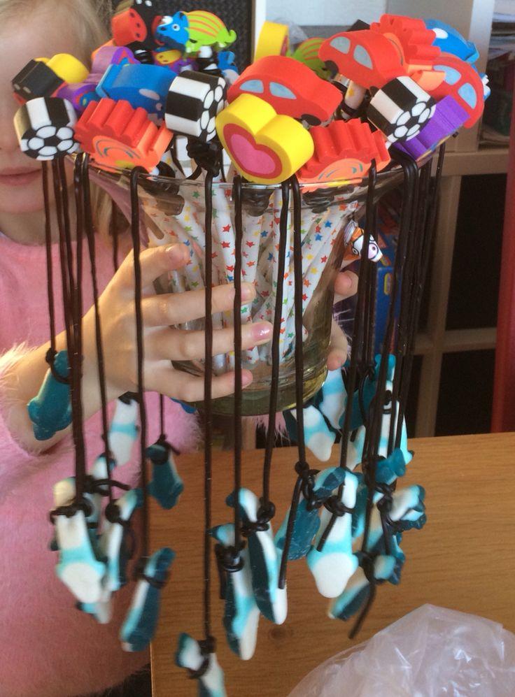 Traktatie vishengels voor mijn dochter 5 jaar