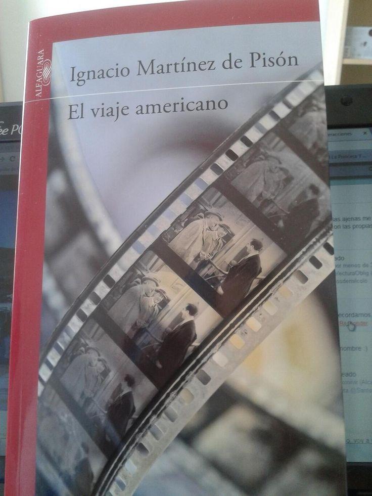 El viaje americano de Ignacio Martínez de Pisón. Un nuevo libro que ocupa las #vacacionesLectoras de @mariajejuan