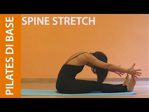 Pilates - Esercizi di Base - Spine Stretch