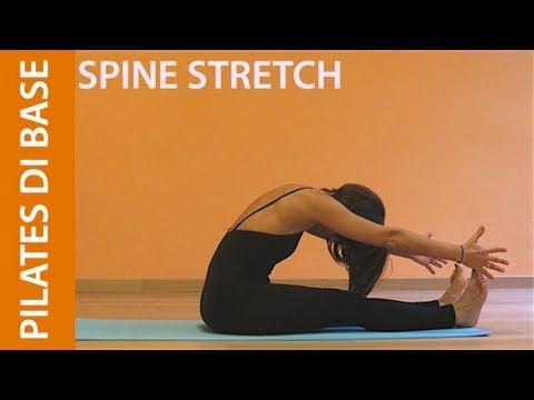 Pilates - Esercizi di Base - Spine Stretch