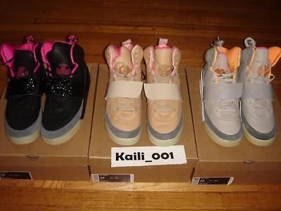 Nike Air Yeezy 1 Set Size 12 Black Pink Blink Zen Tan Jasper Don C