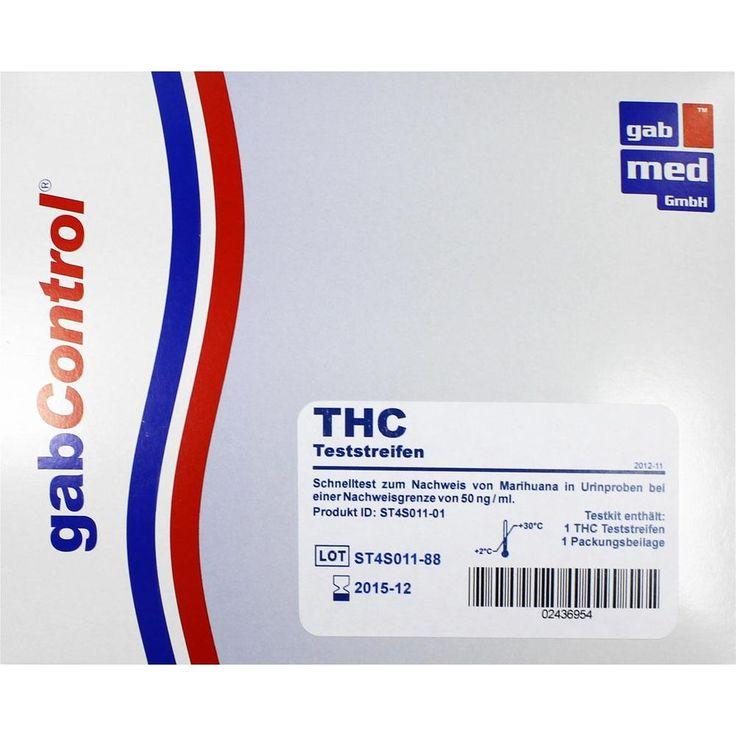 DROGENTEST THC Teststreifen:   Packungsinhalt: 1 St Teststreifen PZN: 02436954 Hersteller: gabmed GmbH Preis: 3,28 EUR inkl. 19 % MwSt.…