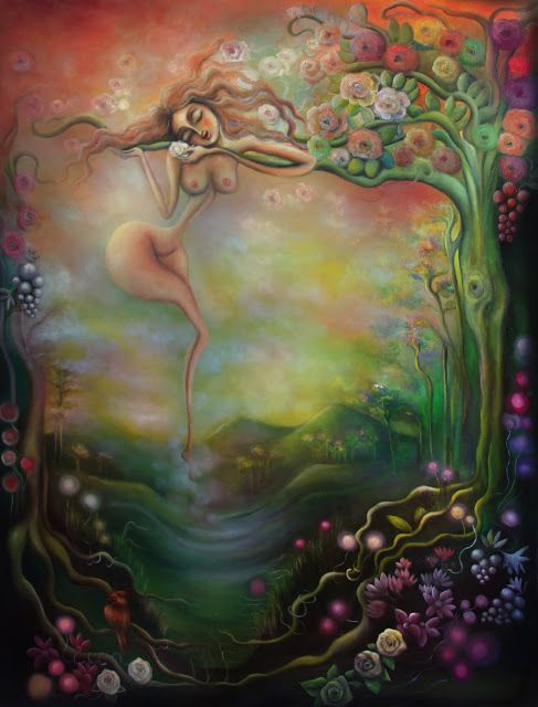 Paintings by Dana Stefania Apostol : Resting