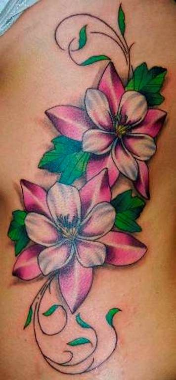Tattoos Flower Vine Tattoo Art Flower Vine Tattoos Are With And Design 356x768 Pixel