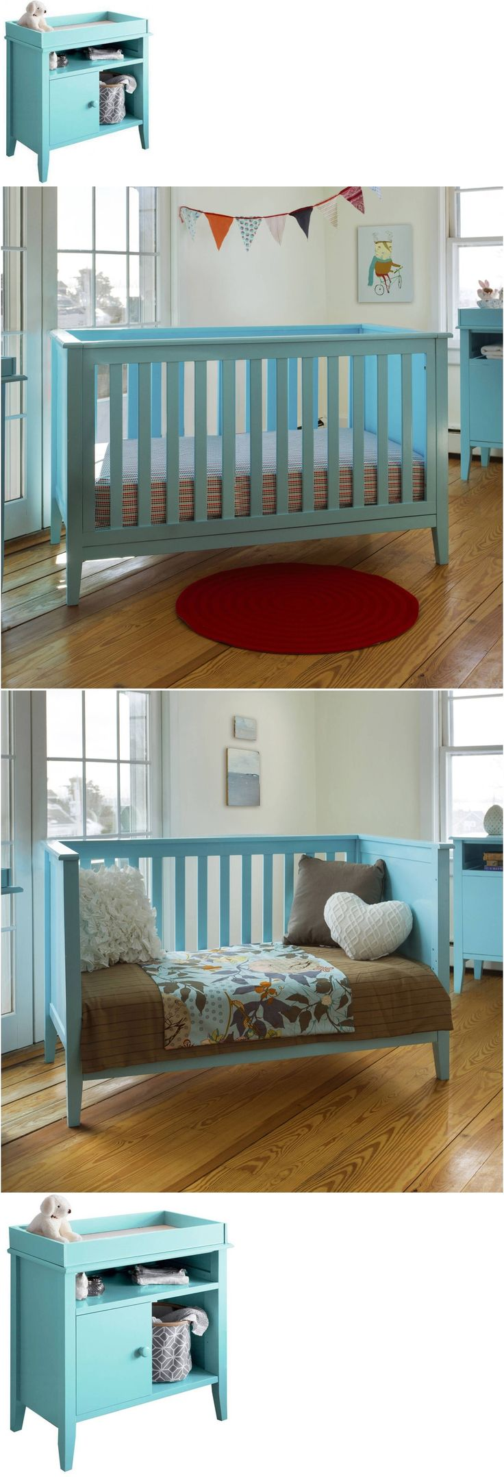 Changing Tables 20424: Baby Changing Table Infant Dresser Nursery Drawer Storage, Tiffany Blue -> BUY IT NOW ONLY: $185.98 on eBay!