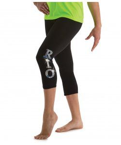 Black Capri Rio Leggings