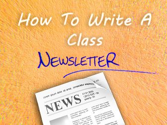 Best Writing A Newsletter Images On   Teaching Ideas