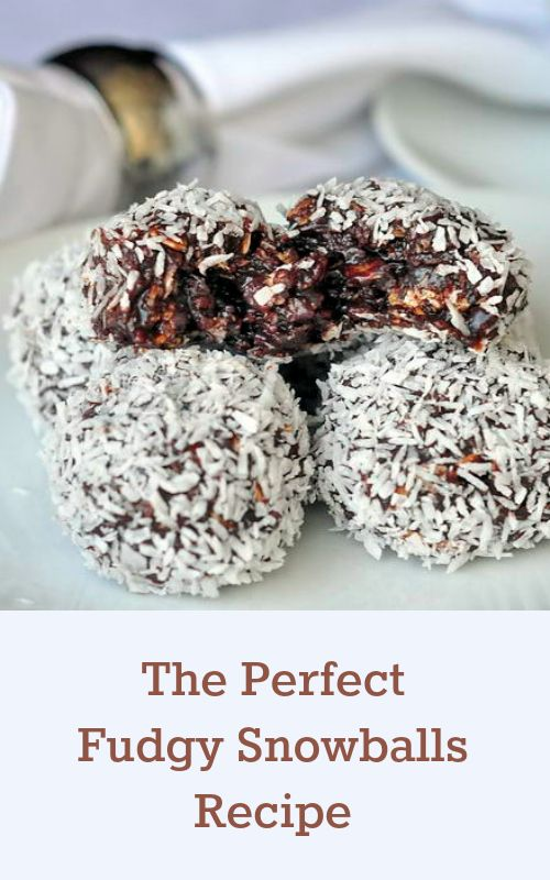 Newfoundland Snowballs - the most searched for Newfoundland recipe on RockRecipes.com. Soft chocolate fudge balls with the goodness of oatmeal and coconut. These freeze exceptionally well and my kids actually prefer to eat them frozen, just like I did as a child.