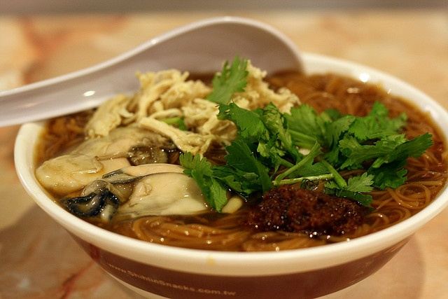 Oysters Mee Sua & XXL Crispy Chicken @ Shihlin Taiwan Street Snacks