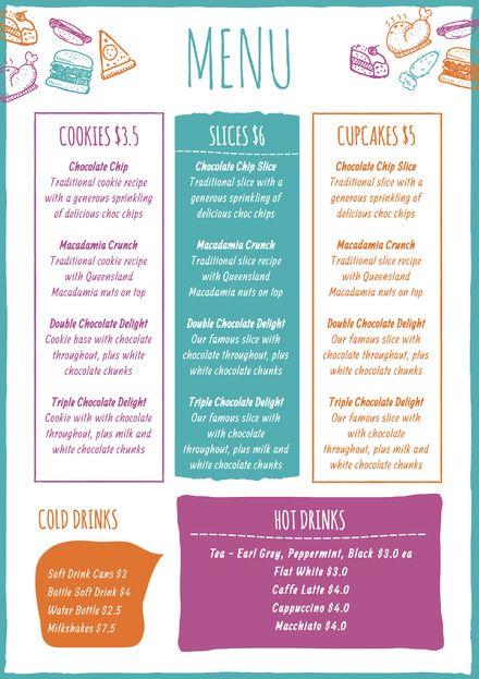 65 best Food \ Drink DIY Templates - DIY Graphic Design images on - drinks menu template