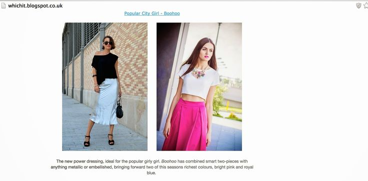 StyleSpectra: Featured on Whichit