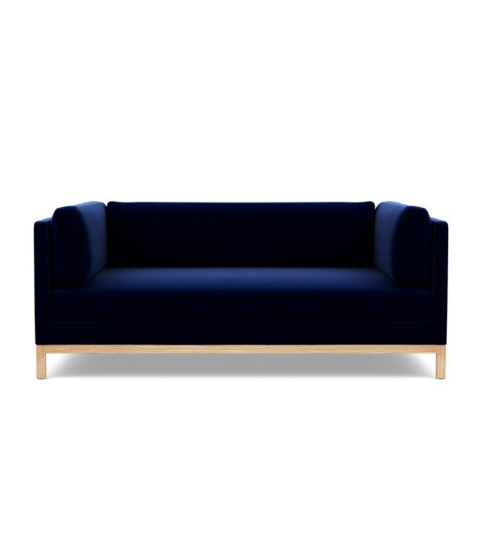 Proof That You Need A Navy Blue Sofa In Your Life Navy Blue Sofa Blue Sofa Chair Blue Sofa