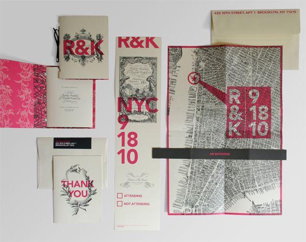 letterpress. wedding invitation.