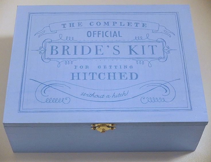 This DIY project from Oh Happy Day is a great practical gift idea for the bride to be.