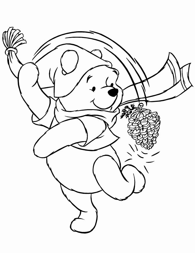 Winter Themed Coloring Pages Awesome Colouring Pages Winter Coloring Home In 2020 Coloring Pages Winter Free Disney Coloring Pages Cute Winnie The Pooh