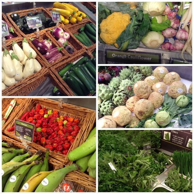 look at all these gorgeous veg!