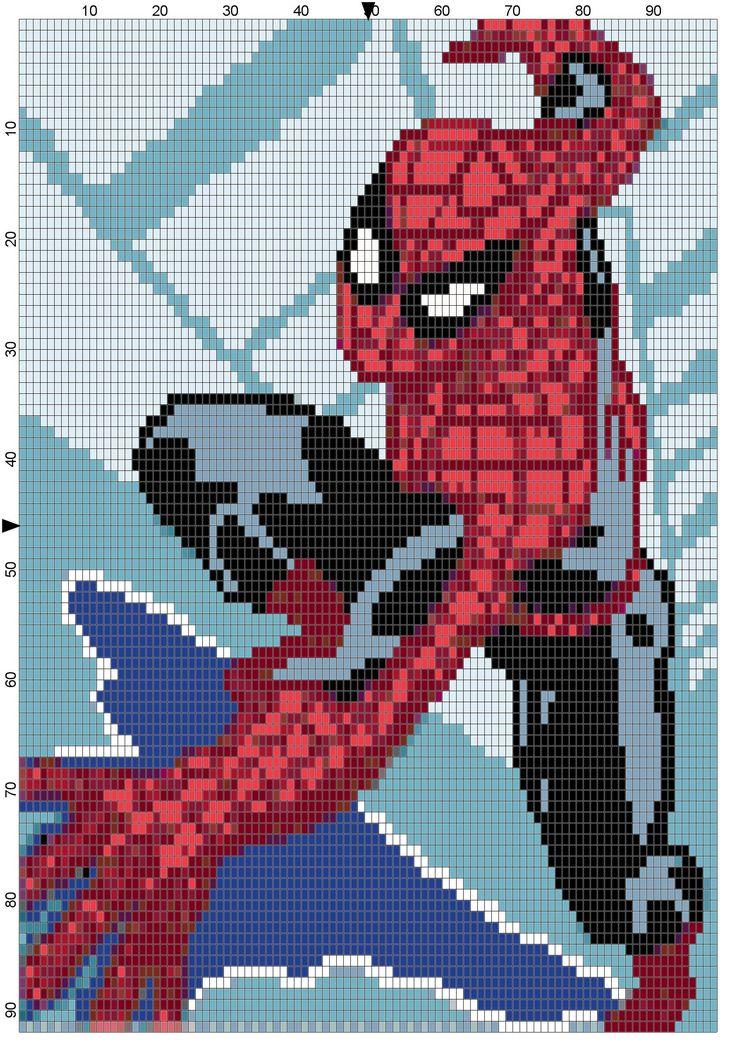 Wall climbing Spiderman