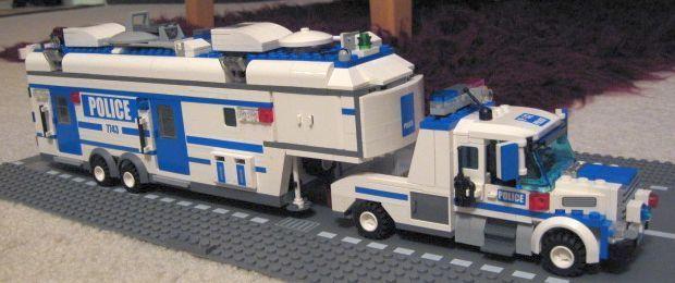police swat truck
