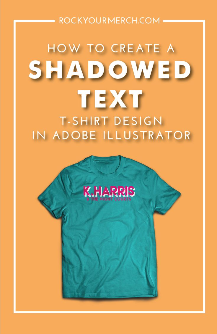 Hey Rockstars! Adobe Illustrator Tutorial today will teach you a crazy  simple method to create shadowed text looks!I know Adobe Illustrator can  seem a little daunting when you're just starting out but don't worry, I've  created this simple series to help you dive in and actually get something
