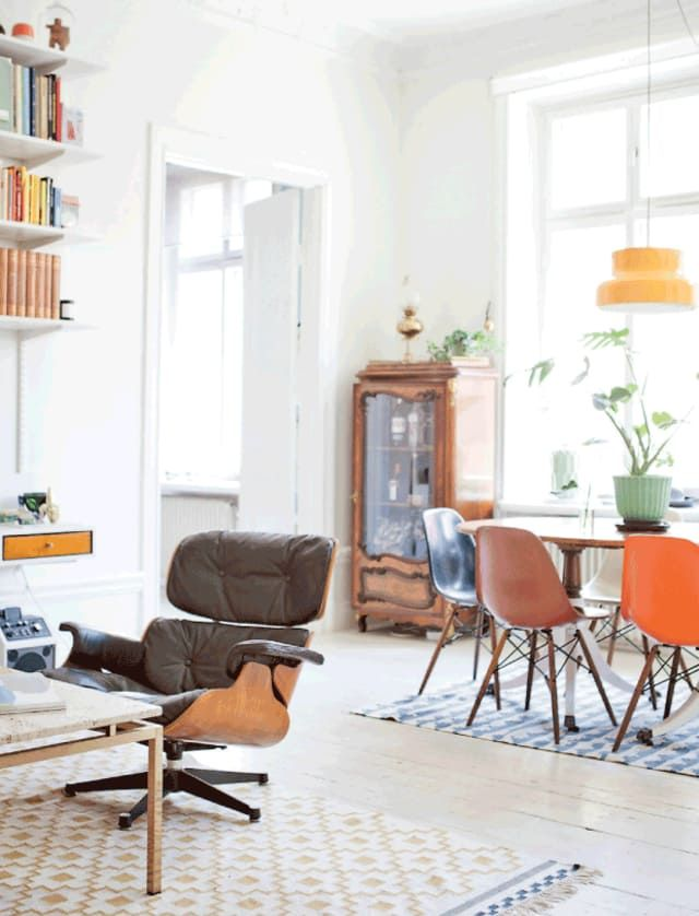 how to mix up your mid century so it never feels dated living room rh pinterest com