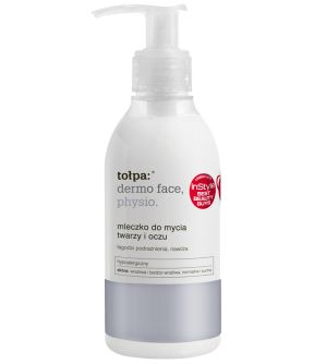 mleczko do mycia twarzy i oczu