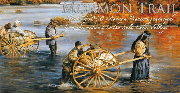 the mormon pioneer trail