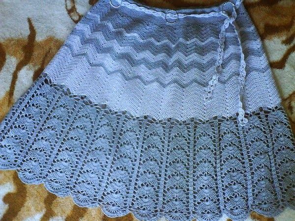 CARAMELO DE CROCHET: falda