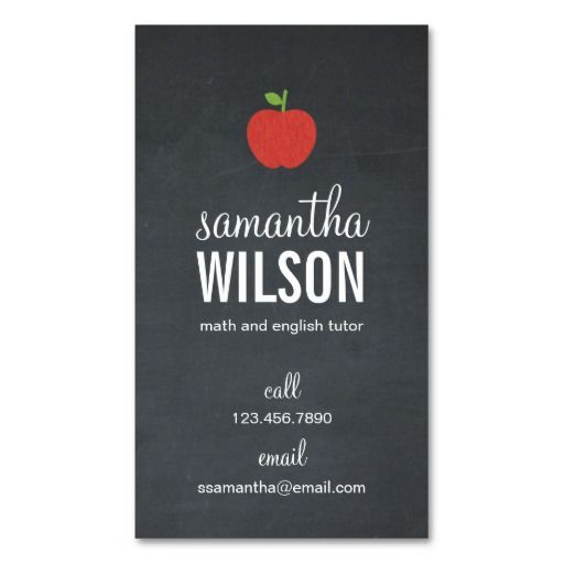 20 best photo props images on pinterest photo props photography chalkboard apple teacher business card groupon colourmoves