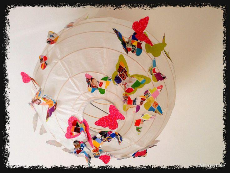 boules japonaises papillons