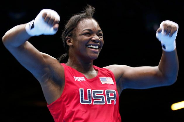 The faces of the women's Olympic boxing!