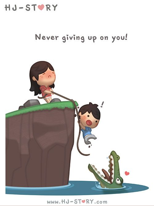Check out the comic HJ-Story :: Never Give Up On You