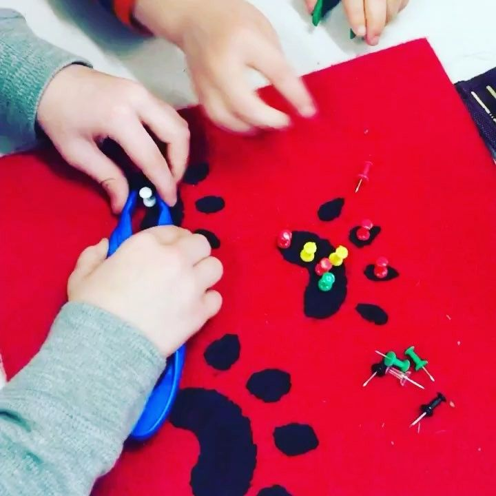 "32 Likes, 1 Comments - Laura King (@kindergartenteachertired) on Instagram: ""🐾🐾🐾🐾🐾fine motor practice We are working on skills that veterinarians use while they are working,…"""