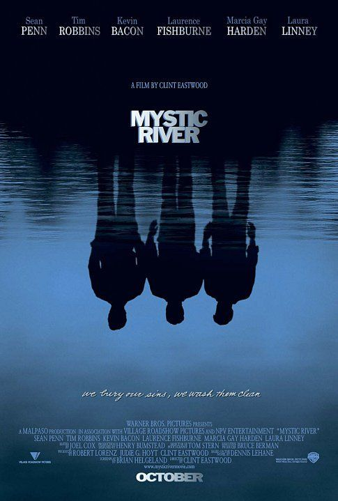Mystic River: Film, Favorite Movies, Movie Poster, Sean Penn, Rivers, Clint Eastwood