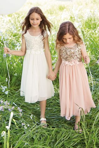 Buy Sequin Corsage Dress (3-14yrs) online today at Next: Australia