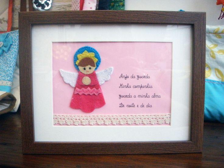 oração anjo da guarda (rosa)