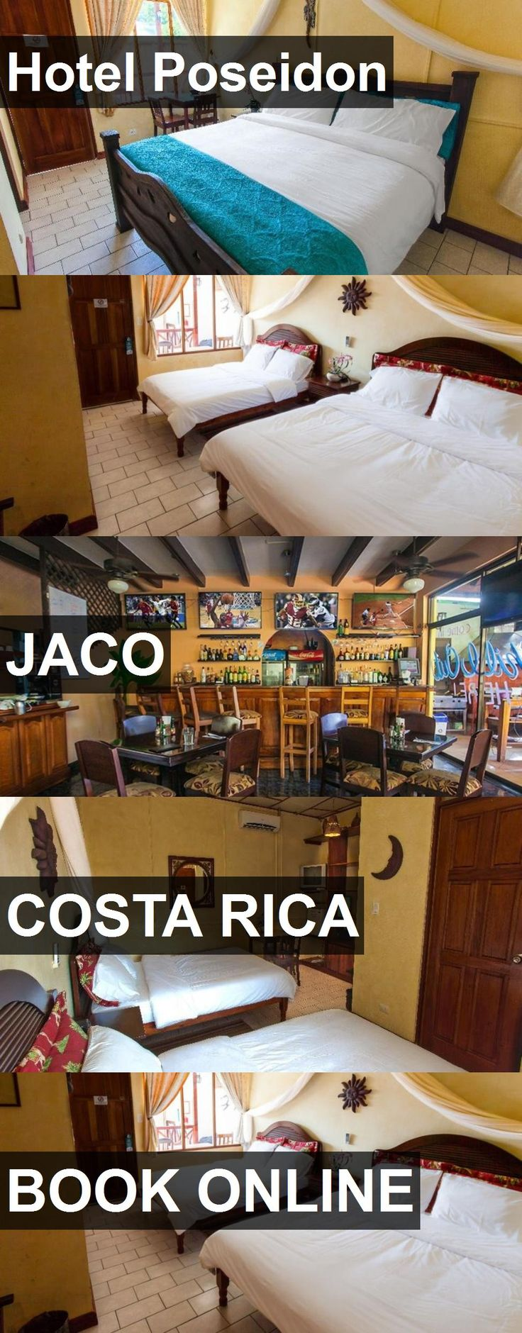 Hotel Hotel Poseidon in Jaco, Costa Rica. For more information, photos, reviews and best prices please follow the link. #CostaRica #Jaco #HotelPoseidon #hotel #travel #vacation