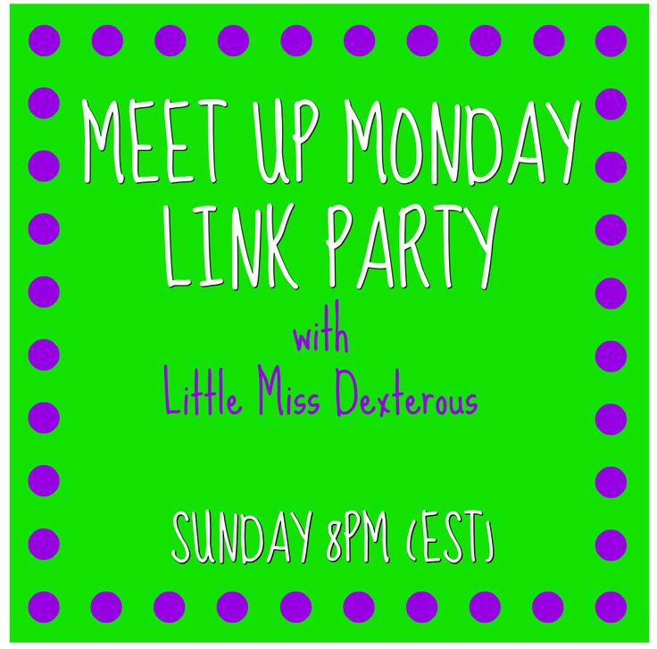 Welcome to Meet Up Monday Link Party #89! Come link up and check out some great projects, recipes, and ideas! Be sure to share the invite! See you there!