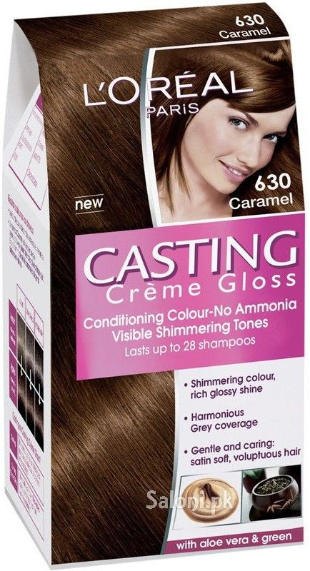 loreal paris casting creme gloss 630 caramel saloni health - L Oral Gloss Color