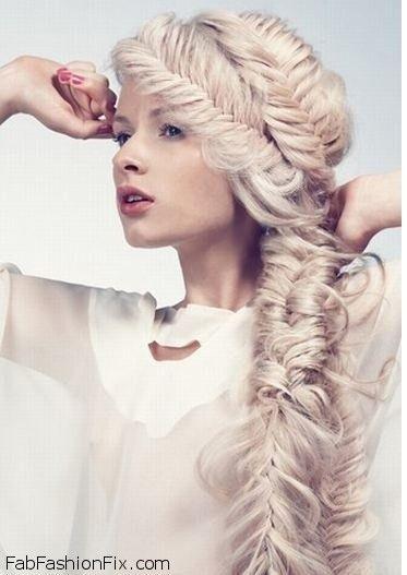 How to do chunky French fishtail braid tutorial? | Fab Fashion Fix