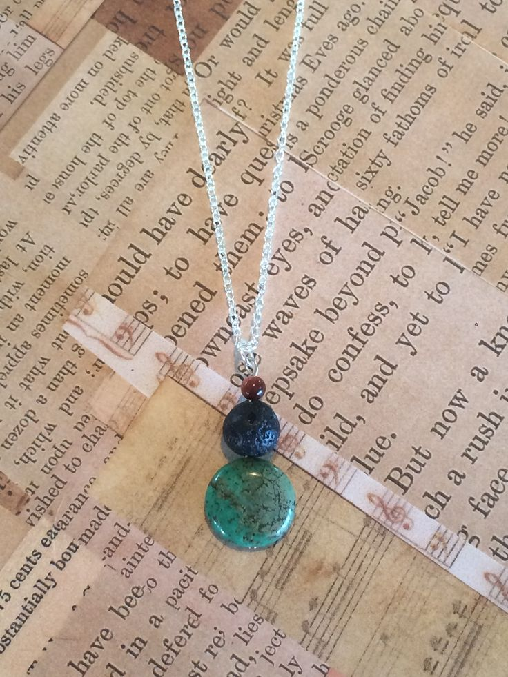 Flat Turquoise Drop Designs Handmade Essential Oil Jewellery • diffuse your essential oils in style with our handmade jewellery •  #lavabeads #essentialoils #chemicalfree #diffuser #jewelry #jewellery #dropdesigns #aromatic #doterra #youngliving
