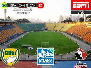 America Rugby Championship 2017 5º Fecha: Brasil 24-23 Canada