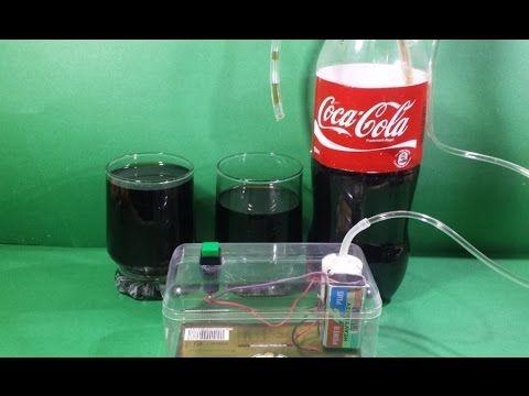 How to make Electronic Soda Dispenser